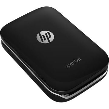 HP Sprocket Photo Printer (Black) price in india features reviews specs