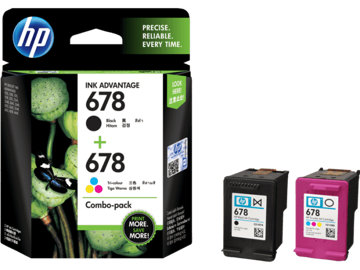 HP 678 2-pack Black/Tri-color Original Ink Advantage Cartridges price in india features reviews specs