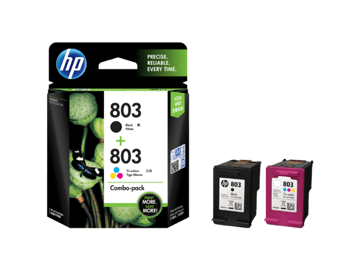 HP 803 2-pack Black/Tri-color Original Ink Advantage Cartridges price in india features reviews specs