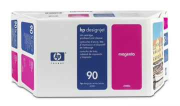 HP 90 Value Pack 400-ml Magenta DesignJet Ink Cartridge and Printhead price in india features reviews specs