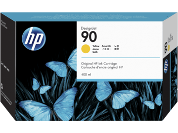 HP 90 3-pack 400-ml Yellow Ink Cartridges price in india features reviews specs