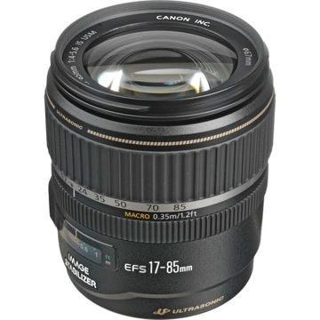 buy Canon EF-S 17-85mm f/4-5.6 IS USM Lens in India imastudent.com