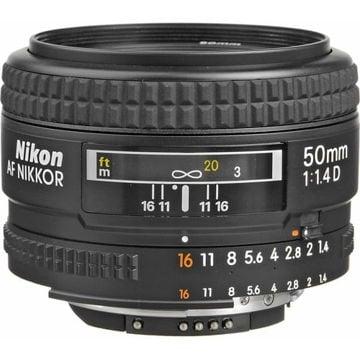buy Nikon AF NIKKOR 50mm f/1.4D Autofocus Lens in India imastudent.com