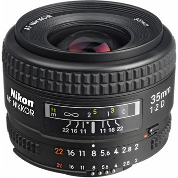 buy Nikon AF NIKKOR 35mm f/2D Lens in India imastudent.com