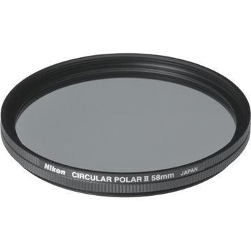 buy Nikon 58mm Circular Polarizer II Filter in India imastudent.com