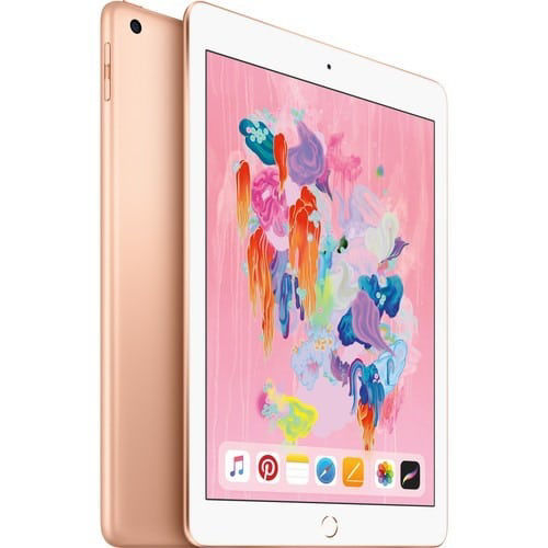 """buy Apple 9.7"""" iPad (Early 2018, 128GB, Wi-Fi Only, Gold) in India imastudent.com"""