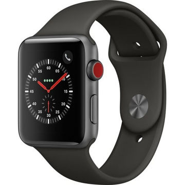 Apple Watch Series 3 42mm Smartwatch (GPS + Cellular, Space Gray Aluminum Case, Gray Sport Band) price in india features reviews specs