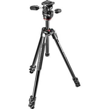 Manfrotto MK290XTA3-3WUS 290 Xtra Aluminum Tripod with 804 3-Way Pan/Tilt Head price in india features reviews specs