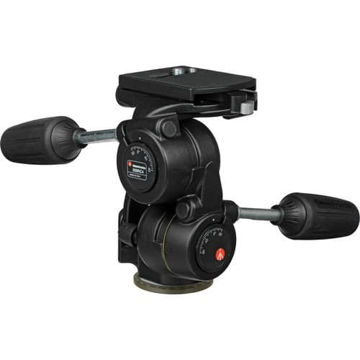 Manfrotto 808RC4 3-Way, Pan-and-Tilt Head with 410PL Quick Release Plate price in india features reviews specs
