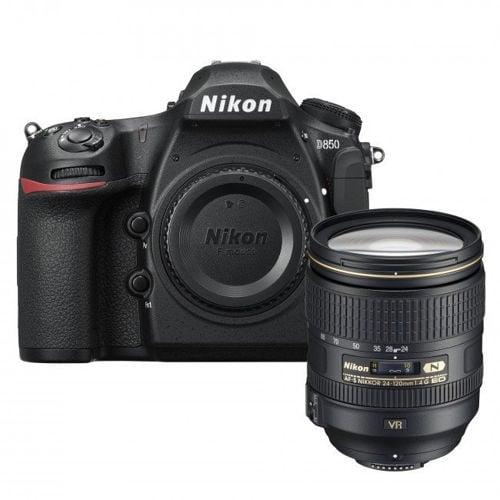 buy Nikon D850 DSLR Camera with 24-120mm lens in india