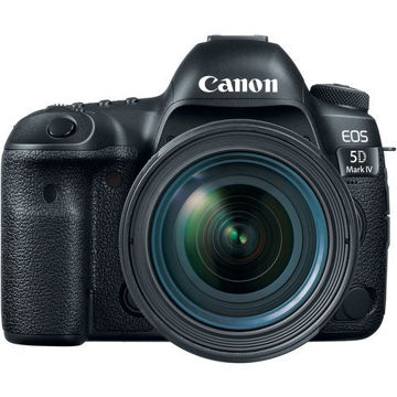 buy Canon EOS 5D Mark IV DSLR Camera with 24-70mm f/4L Lens in india imastudent.com