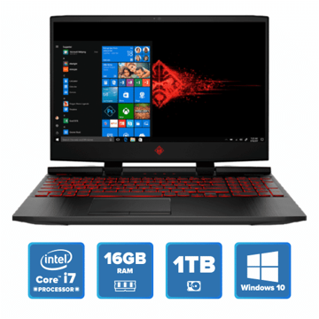 OMEN by HP Laptop 15-dc0084TX (Shadow Black) price in india features reviews specs