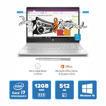 HP Pavilion 14-cd0056TX x360 (Mineral Silver) price in india features reviews specs