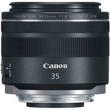 buy Canon RF 35mm f/1.8 IS Macro STM Lens in India imastudent.com