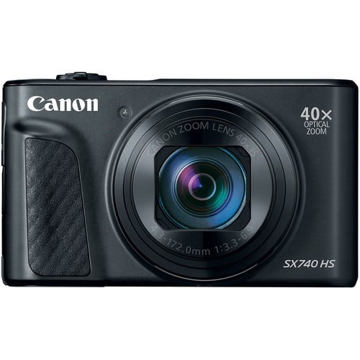 buy Canon PowerShot SX740 HS Digital Camera (Black) in India imastudent.com