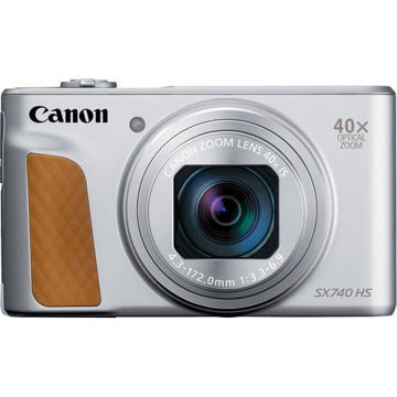 buy Canon PowerShot SX740 HS Digital Camera (silver) in India imastudent.com