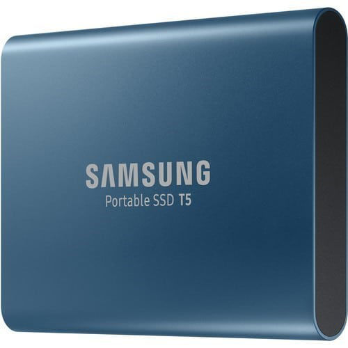 buy Samsung 500GB T5 Portable Solid-State Drive (Blue) in India imastudent.com