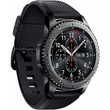 buy Samsung Gear S3 frontier Smartwatch (Large Band) in India imastudent.com