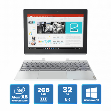 Lenovo Miix 320 Detachable - x5 Win 10 2GB 32GB (Platinum) price in india features reviews specs