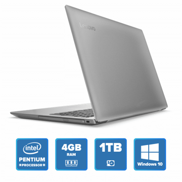 Lenovo IdeaPad 320 - N4200 Win 10 4GB 1TB HDD (Platinum Grey) price in india features reviews specs