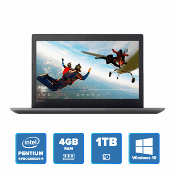 Lenovo IdeaPad 320 - N4200 Win 10 4GB 1TB HDD (Onyx Black) price in india features reviews specs