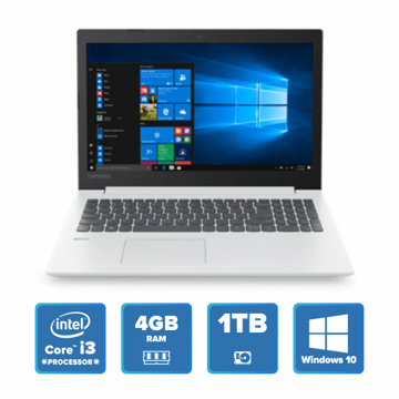 Lenovo IdeaPad 330 - i3 Win 10 4GB 1TB HDD (Blizzard White) price in india features reviews specs
