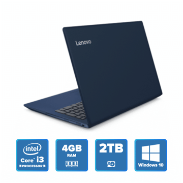 Lenovo IdeaPad 330 - i3 Win 10 4GB 2TB HDD (Midnight Blue) price in india features reviews specs
