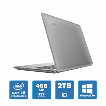 Lenovo IdeaPad 320 - i3 Win 10 4GB 2TB HDD (Platinum Grey) price in india features reviews specs