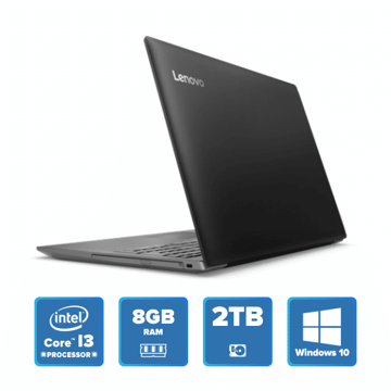 Lenovo IdeaPad 320 - i3 Win 10 8GB 2TB HDD (Onyx Black) price in india features reviews specs