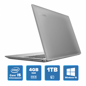 Lenovo IdeaPad 320 - i5 Win 10 4GB 1TB HDD (Platinum Grey) price in india features reviews specs