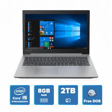 Lenovo IdeaPad 330 - i5 DOS 8GB 2TB HDD (Platinum Grey) price in india features reviews specs