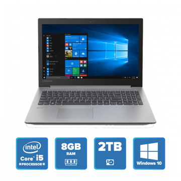 Lenovo IdeaPad 330 - i5 Win 10 8GB 2TB HDD (Platinum Grey) price in india features reviews specs