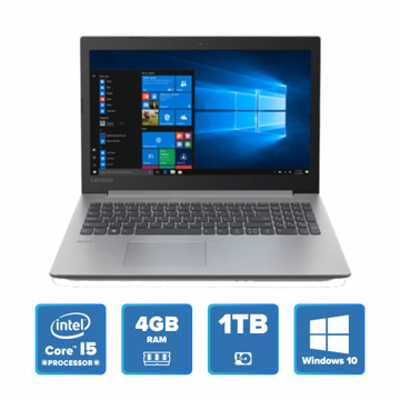 Lenovo IdeaPad 330 Slim - i5 Win 10 4GB 1TB HDD (Platinum Grey) price in india features reviews specs