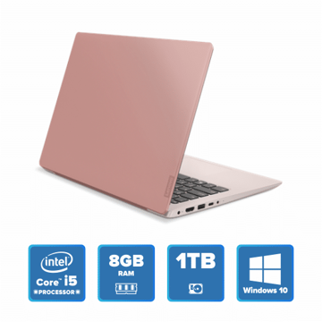 Lenovo IdeaPad 330 Slim - i5 Win 10 8GB 1TB HDD (Rose Pink) price in india features reviews specs