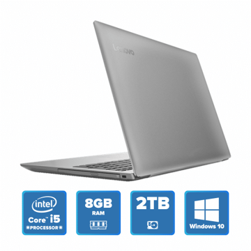 Lenovo IdeaPad 320 - i5 Win 10 8GB 2TB HDD (Platinum Grey) price in india features reviews specs