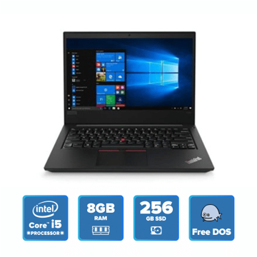 Lenovo ThinkPad E480 - i5 DOS 8GB 256GB SSD (Black) price in india features reviews specs