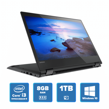 Lenovo Yoga 520 Convertible - i3 Win 10 8GB 1TB HDD (Onyx Black) price in india features reviews specs