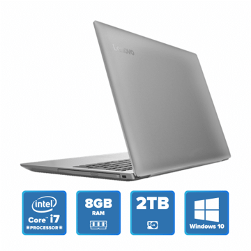 Lenovo IdeaPad 320 - i7 Win 10 8GB 2TB HDD (Platinum Grey) price in india features reviews specs