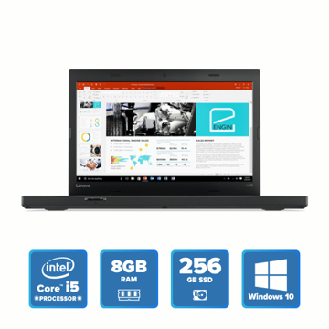 Lenovo Thinkpad L470 i5 - 8GB Win 10 Pro 256GB SSD (Black) price in india features reviews specs