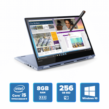 Lenovo Yoga 530 Convertible - i5 Win 10 8GB 256GB SSD (Liquid Blue) price in india features reviews specs