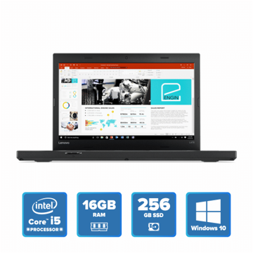 Lenovo ThinkPad L470 - i5 Win 10 16GB 256GB SSD (Black) price in india features reviews specs