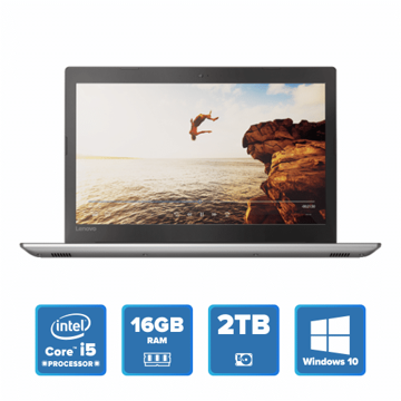 Lenovo IdeaPad 520 - i5 Win 10 16GB 2TB HDD (Iron Grey) price in india features reviews specs