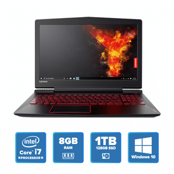 Lenovo Legion Gaming Y520- i7 Win 10 16GB 1TB+128GB SSD (Black) price in india features reviews specs