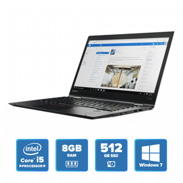 Lenovo ThinkPad X1 Yoga - i5 Win 7 8GB 512GB SSD (Black) price in india features reviews specs