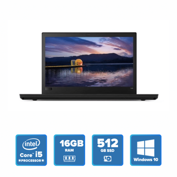 Lenovo ThinkPad T480 - i5 Win 10 16GB 512GB SSD (Black) price in india features reviews specs