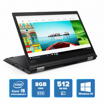 Lenovo ThinkPad X380 Yoga - i5 Win 10 8GB 512GB SSD (Black) price in india features reviews specs