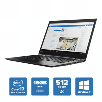 Lenovo ThinkPad X1 Yoga - i7 Win 7 16GB 512GB SSD (Black) price in india features reviews specs