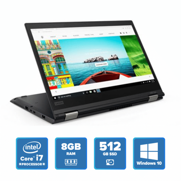 Lenovo ThinkPad X380 Yoga - i7 Win 10 8GB 512GB SSD (Black) price in india features reviews specs