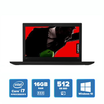 Lenovo ThinkPad X280 - i7 Win 10 16GB 512GB SSD (Black) price in india features reviews specs