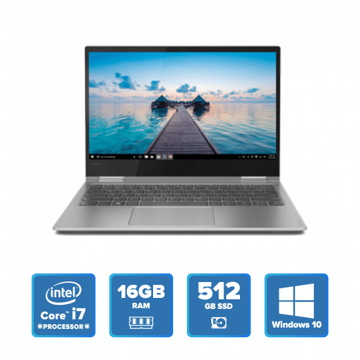 Lenovo Yoga 730 Convertible - i7 Win 10 16GB 512GB SSD (Platinum) price in india features reviews specs